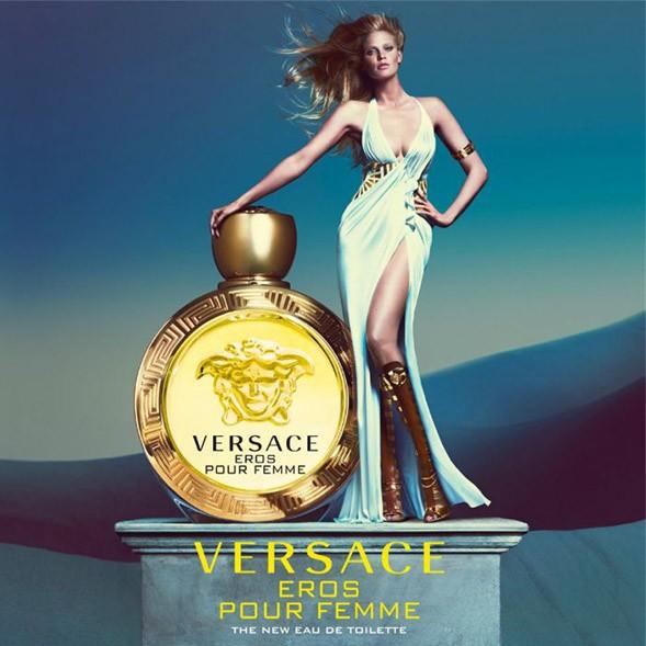 Versace Eros Pour Femme - Perfume Eau de Toilette Feminino 30ml