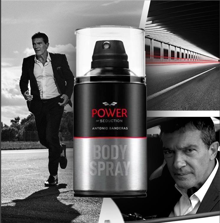 Power Of Seduction Antonio Banderas - Body Spray 250ml