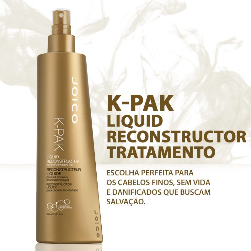 Reconstrutor Capilar Joico K-PAK Liquid Reconstructor 300 ml