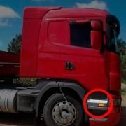 Acabamento Tampa Estribo Compatível com Caminhão Scania P | G | R até 2012 LE