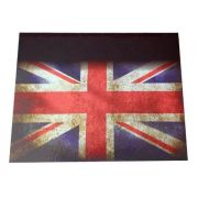 Apara Barro Dianteiro Caminhão 50 X 40 Bandeira Inglaterra Par