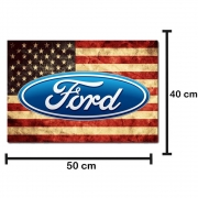 Apara Barro Dianteiro Caminhão 50 X 40 Ford América