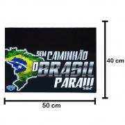 Apara Barro Dianteiro Caminhão 50 X 40 Sem Caminhão o Brasil Para