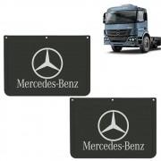 Apara Barro Dianteiro Injetado para Mercedes Benz (42x30) Par