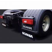 Apara Barro Traseiro Injetado Alto Relevo Compatível com Caminhão Scania (60x36)