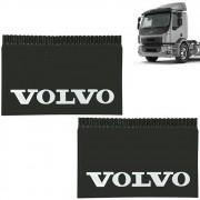 Apara Barro Traseiro Injetado Alto Relevo para Volvo (66x44) Par