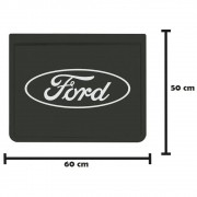 Apara Barro Traseiro Injetado para Ford (60x50) Par