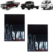 Apara Barro Traseiro Para Hyundai HR, Kia Bongo, F4000, D20 37 X 25 Família