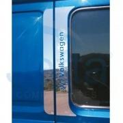 Aplique Inox Coluna da Porta para Caminhão Vw Titan / Worker / Delivery até 2018