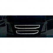 Aplique Mascara Da Grade Superior e Inferior para Volvo Fh após 2014