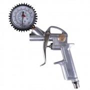 Calibrador Analógico Com Bico - 0 a 220 Psi Cabo - 1/4 NPT