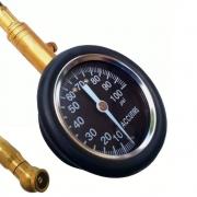 Calibrador de Pneus Manual com Manômetro para Kart 100 PSI