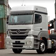 Centro Acabamento Para-Choque Spoiler Inferior para Caminhão Mercedes-Benz Axor