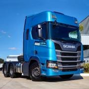 Centro Capa Para-Choque para Caminhão Scania NTG Após 2019