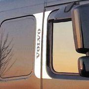 Conjunto em Inox Coluna da Porta para Volvo FM / NH / FH Inferior à 2014