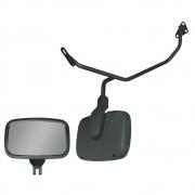 Conjunto Espelho Rampa Frontal para Caminhão Scania S4 P G R Com Suportes