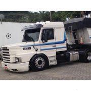 Conjunto Faixa Adesiva Azul Compatível com o Caminhão Scania T 113