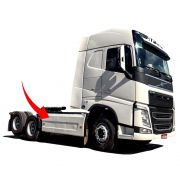 Defletor Carenagem Lateral Caminhão Volvo NEW FH 2015 2016 2017 2018