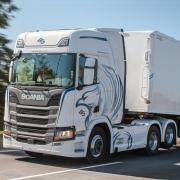 Defletor Carenagem Lateral Tanque para Caminhão Scania NTG após 2020 Entre Eixo 3,35