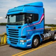 Defletor Coluna para Caminhão Scania S5 / S6 Streamline Lado Esquerdo