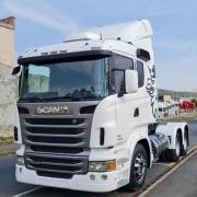 Defletor de Ar para Caminhão Scania S4 / S5  G / R Com Recorte para Filtro