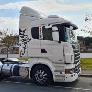 Defletor de Ar para Caminhão Scania S4 / S5  G / R Sem Recorte para Filtro
