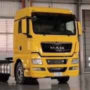 Emblema Cromado Capô para Caminhão Man TGX