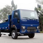 Emblema Escovado Frontal Para Caminhão Ford Cargo