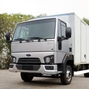Emblema Escovado Frontal Para Caminhão Ford Cargo 816