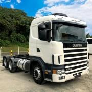 Emblema Frontal R360 para Caminhão Scania S4 124