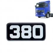 Emblema Lateral 380 para Caminhão Volvo FH