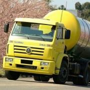 Emblema Resinado Frontal Para Caminhão Vw Tractor