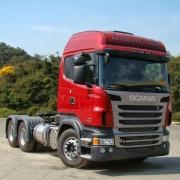 Emblema Resinado Lateral Lado Esquerdo para Caminhão Scania Euro 5 Opticruise