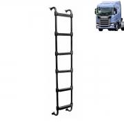 Escada traseira Compatível com o Caminhão Scania NTG R G 5 degraus
