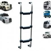 Escada Traseira para caminhão Volvo FH EDC FM NH NL VM Cromada