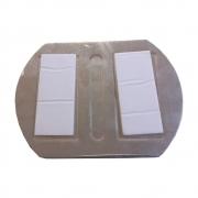 Espelho Auxiliar Ponto Cego Biônico para Caminhão 13x10 cm