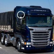 Espelho de rampa lateral Compatível com o Caminhão Scania Série 4 P G R 114 124 - 148327 - 1484076 - 1916864