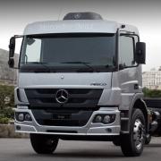 Estribo Para-Lama Cabine em Fibra para Caminhão Mb Atego após 2012 Lado Esquerdo