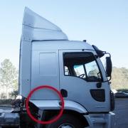 Extensão Para-Lama Cabine Lado Direito para Caminhão Ford Cargo após 2012