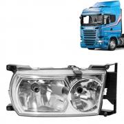Farol Principal para Caminhão Scania Série 5 P / G / R Lado direito 1760597