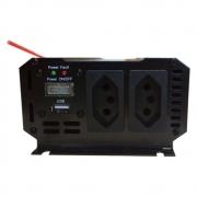 Inversor de Voltagem 12V para 110V 300W Caminhão