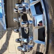 Kit 20 Capas de Porca Cromada Suiça para Caminhão 32 / 33 MM