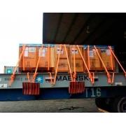 Kit 5 Cinta com Catraca Caminhão até 3 Toneladas 9 Metros 50 mm