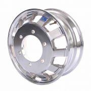 Kit 6 Rodas de Alumínio Caminhão Speedline Aro 17,5 x 6 Tres Quartos