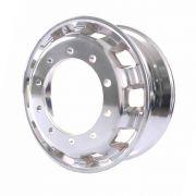 Kit 6 Rodas de Alumínio Caminhão Speedline Aro 22,5 X 8,25 10 Furos