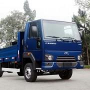 Kit Emblemas Escovado Frontal Para Caminhão Ford Cargo 1119