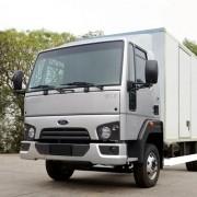 Kit Emblemas Escovado Frontal Para Caminhão Ford Cargo 816