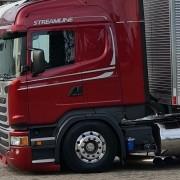 Kit Escapamento com Ponteira Dupla Americana Caminhão Scania S5 NTG 2019/2021 LE