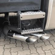 Kit Escapamento com Ponteira Dupla Americana Volvo FH 2021 LE