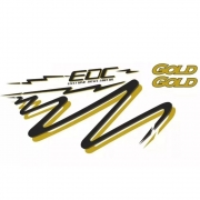 Kit  Faixa Adesiva Para Caminhão Volvo Edc Gold 1996